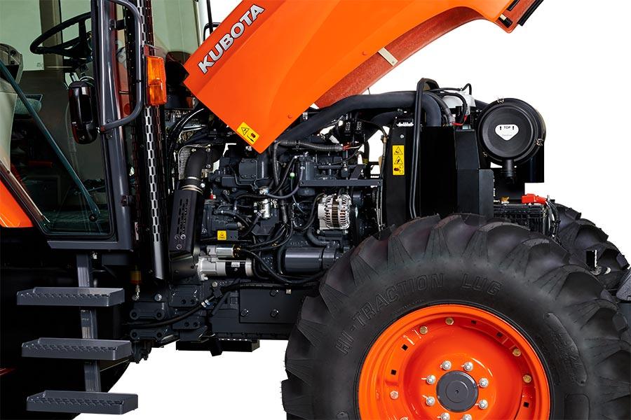 Motor Kubota Diesel V6108 con Turbo Intercooler